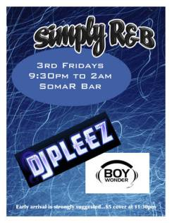 Fridays Third_Simply R&B