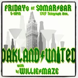 Oakland United_Friday Happy Hour
