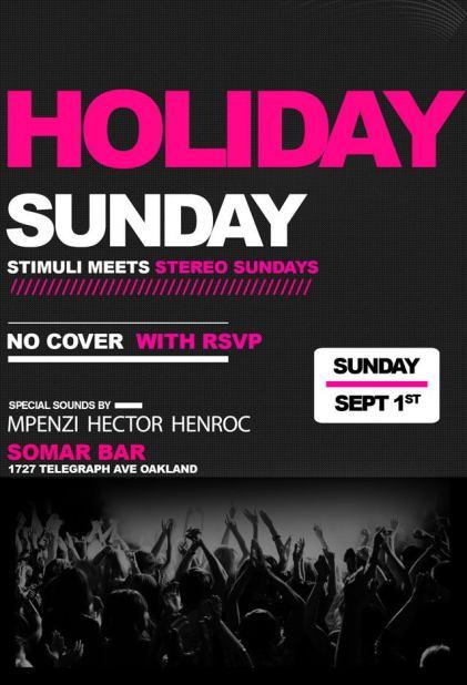 Holiday Sunday_9-1-13