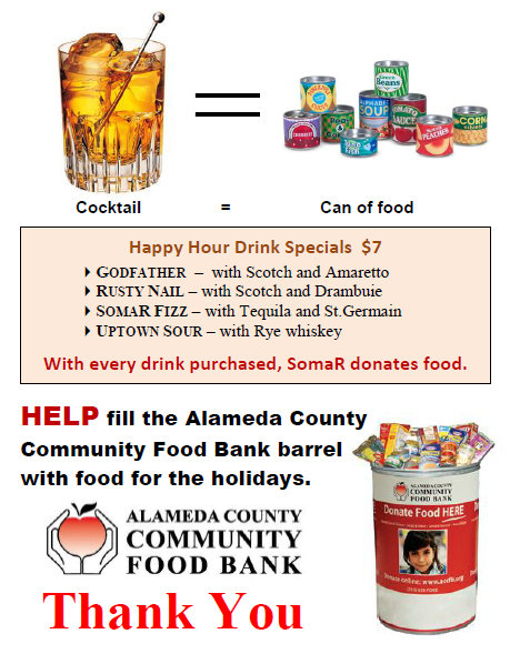 Alameda County Food Bank postcard