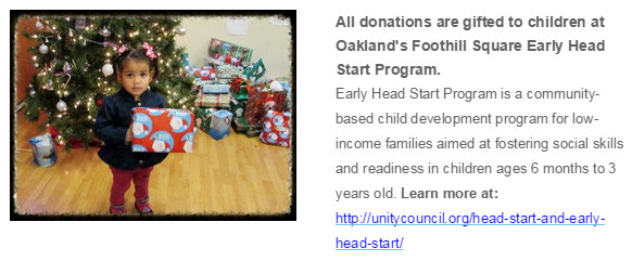 Give Oakland Toy Drive