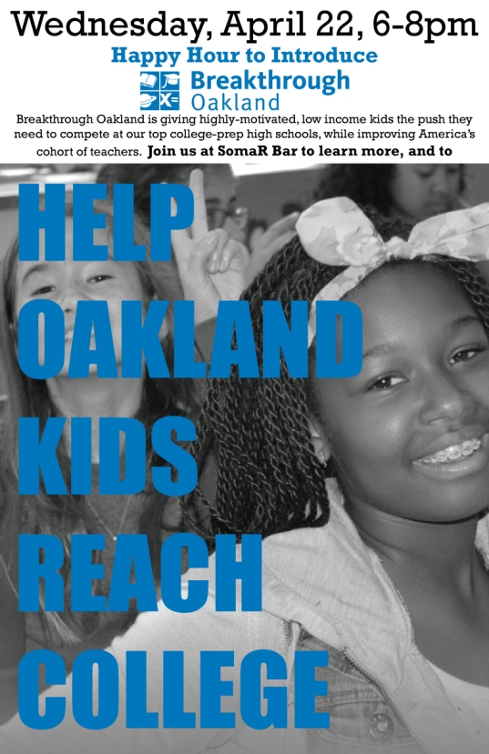 Breakthrough Oakland flyer 2