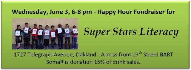 Super Stars Literacy flyer