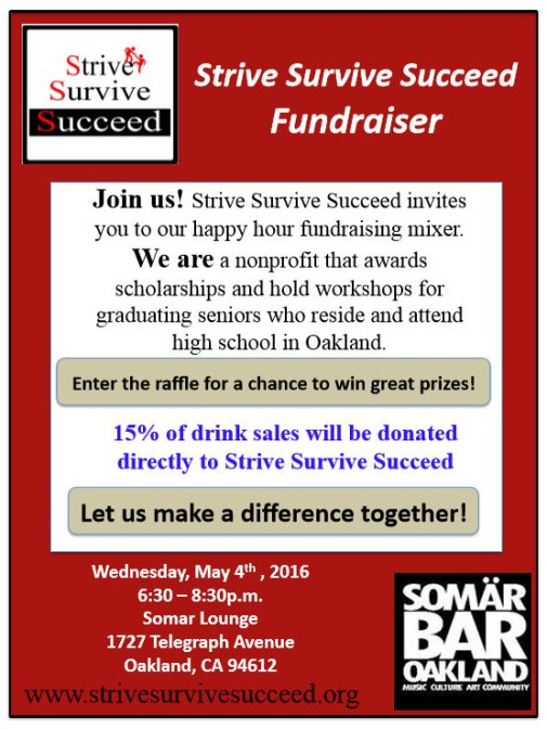 Strive Survive Succeed Fundraiser Flyer_5-4-16