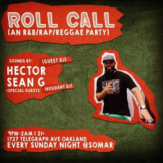 Roll Call_Sunday DJ
