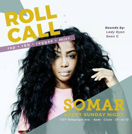 Roll Call Sunday