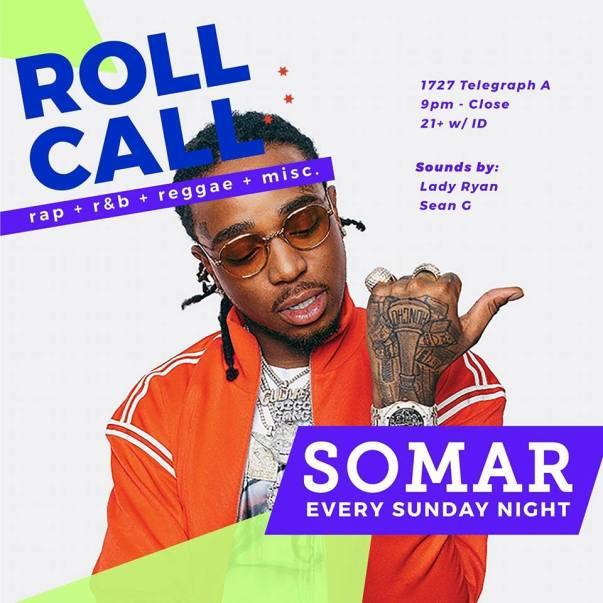 Roll Call Sundays