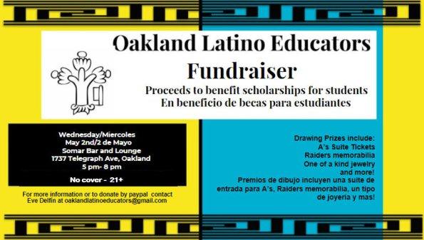 Oakland Latino Educators flyer_5-2-18