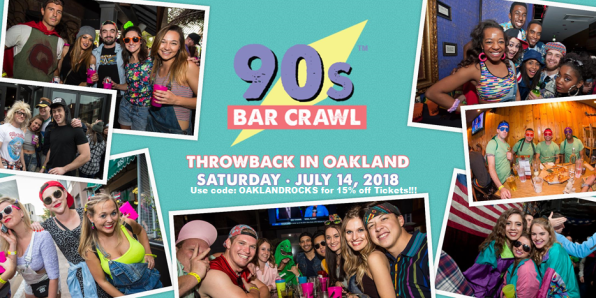 90s Bar Craw flyer_7-14-18