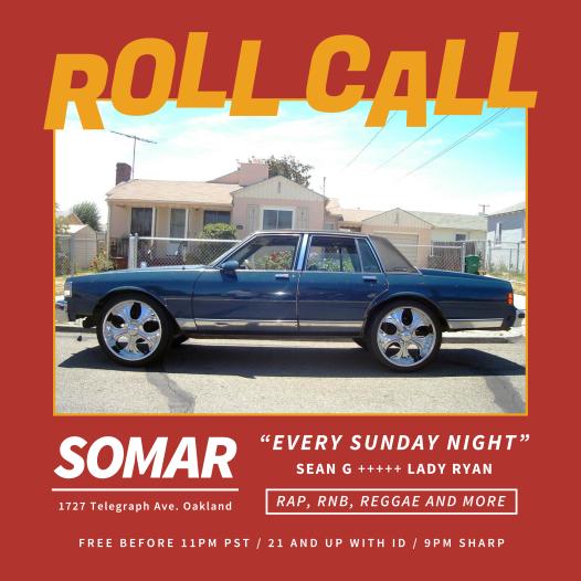 ROLL CALL Oct 2018