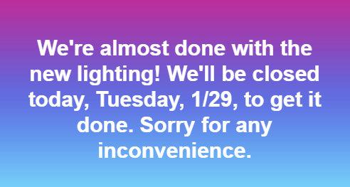 closed 1-29-19