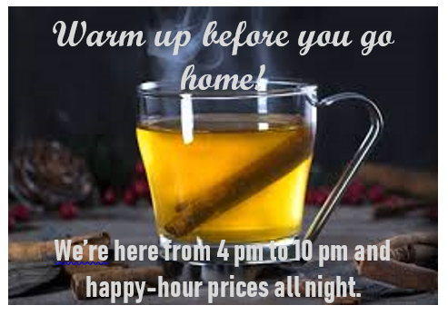 happy hour warm up