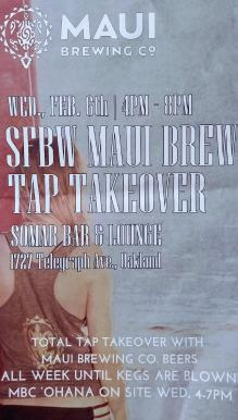 Maui Brewing Takeover_2-6-19