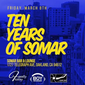 Finally Friday 10 Years Somar_3-8-19