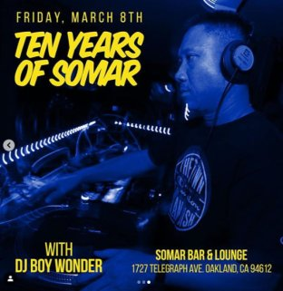 Finally Friday Boy Wonder 10 Years Somar_3-8-19