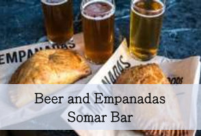 Beer and empanadas