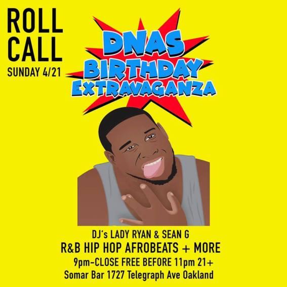 Roll Call DNAS BDay_v2_4-21-19