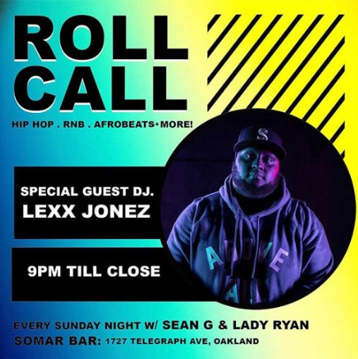 Roll Call Lexx Jonez_5-26-19