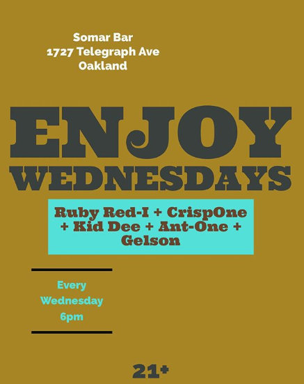 Enjoy Wednesdays_May 2019