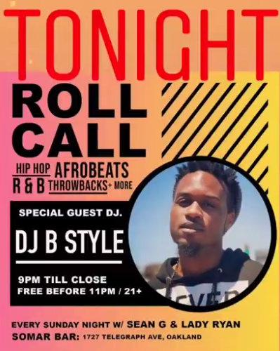 Roll Call DJ B Style_1-12-20