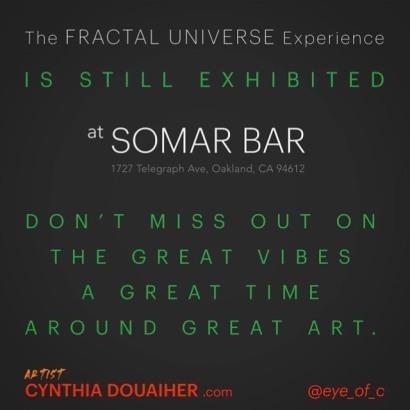 Somar art is still going on